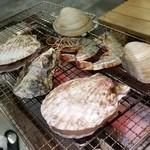 道の駅 日立おさかなセンター - 「新名物うまかっぺ 海鮮浜焼バーベキュー」、自分で焼いて食べるのが楽しい~♪