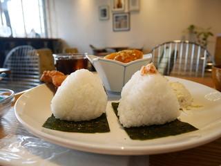 Onigily Cafe - よくばりプレート(Lunch)1080円