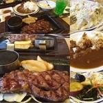 ステーキガスト - 料理写真: ✨Today's Lunch✨1294yen熟成肉ロブステーキ150g                     サラダバー