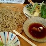 手打蕎麦 ちりん - ランチ『天せいろ』¥980-