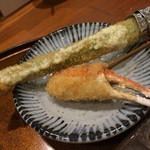 串亭 - アスパラは、大きくて中がトロトロ