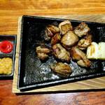 月の宴 - 比内地鶏の炭火炙り焼き