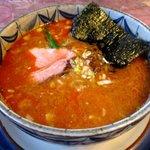 花キッチン - 金ごまタンタン麺(モモチャーシュー)!(2015,12/20)