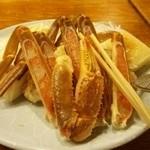 はしうど荘 - 料理写真:これだけ質のいい蟹を食べられるなんて…