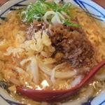 丸亀製麺 - 肉たまあんかけ
