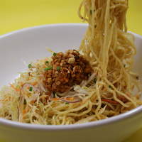 姜太公 - 干拌担担面(つゆ無し坦々麺)此処で食べられます