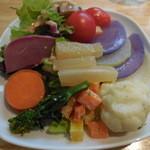 はっぱや神戸野菜ごはん - サラダバイキング(オイラ)