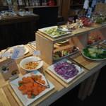 はっぱや神戸野菜ごはん - サラダバイキング