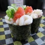 回転寿司ととぎん - たらの白子(北海道産)