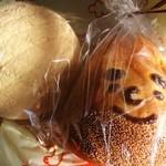 ロティ エナ - メロンパンと栗のパン