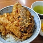 雷門 三定 - 天丼並1,460円(税込)