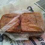 パンのくま小屋 - 四角いシナモンとレーズンのパン