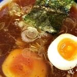 つきみ野大勝軒 - 味玉つけ麺つけ汁 アップ