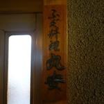 丸安 - ☆ふぐ料理丸安さんの看板☆