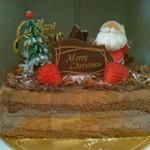 クラベリーナ - 料理写真:クリスマスチョコレートケーキ