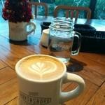 ノースショア - セットのカフェラテ大きい!
