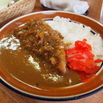 ふくすけ - 料理写真:本日の料理:カツカレー\800-