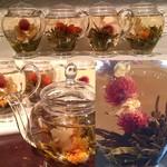 東南アジア食堂 マラッカ - 中国の花茶。お手頃な価格で提供させていただいております。