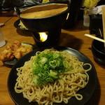 清正 - 鉄鍋つけ麺880円(税込) ※麺2、5玉(サービス) 2015年12月