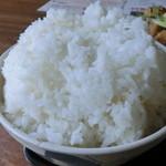 カフェレスト テンセブン - 「特盛り」ご飯