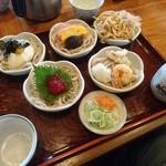 直利庵 - 5色蕎麦(¥1.200)