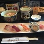 松葉寿司 - 得うどん定食