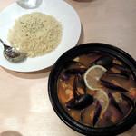ミシュミシュ - ムール貝のタジン鍋とクスクス