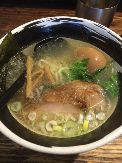 麺場 浜虎 - 塩鶏そば