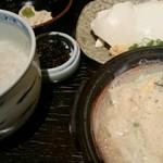 45909221 - 湯葉丼+湯葉刺セット(1480円)