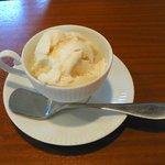 cafe de COT - りんごのムース(デザート)
