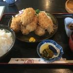 喰処 さか本 - かきフライ定食¥1580♪
