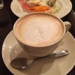 カフェ ジ エンド - カプチーノ