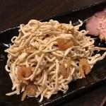 鴻翔 - 干しエビと干豆腐の和え物