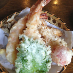 45912887 - 天ぷら(天もり蕎麦1700円)