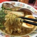 もっこす - 魚介そば(730円)麺リフト