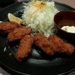 和食と甘味かんざし - カキフライ定食
