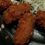 和食と甘味かんざし - カキフライアップ