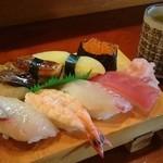 晶栄寿司 - 料理写真:上にぎり 1300円