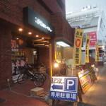 焼肉ロクマルBBQ - 国道263号線の飯倉一丁目のバス停すぐそばです