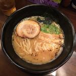 麺家 半蔵 - とんこつラーメン