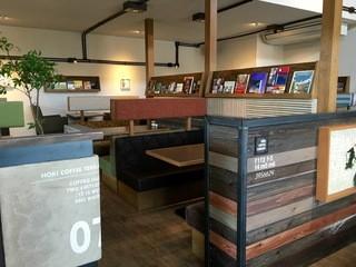 HOKI COFFEE TERRACE - 1階席