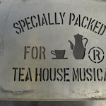 ティーハウス ムジカ - お店の看板