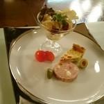 レストラン 松涛 - 和洋の前菜