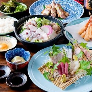【海鮮コース】宴会に最適な絶品コース♪