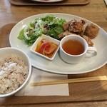 RICHE - 紀州梅鶏竜田揚げセット