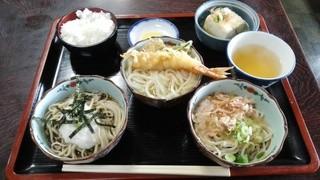 越前そば松尾 - 「大名セット」972円