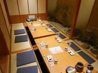 薩摩ごかもん 京都四条烏丸本店 - 座敷席