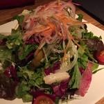 博多 肉道楽 - 彩り野菜サラダ