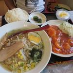 台湾料理 永旺 - 料理写真:エビチリ定食 1,090円」
