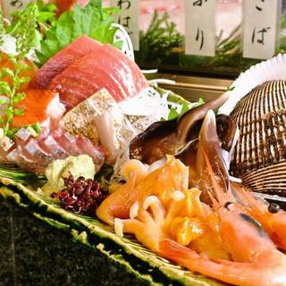 旬な鮮魚をご用意★